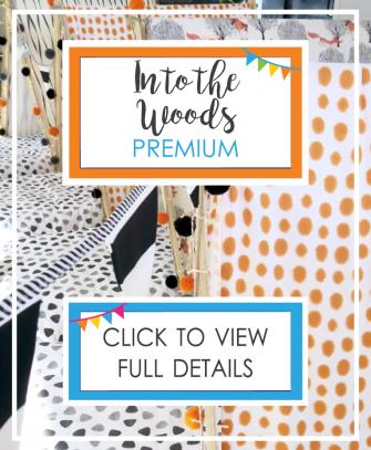 Into the Woods - Premium Theme with Disco Light