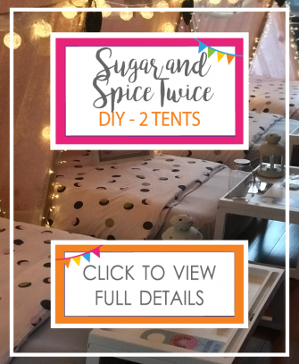 Sugar and Spice Twice (2 Tents) DIY ONLY