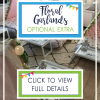 Floral Garlands - Optional Extra