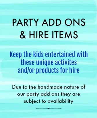 Add On Party Activities
