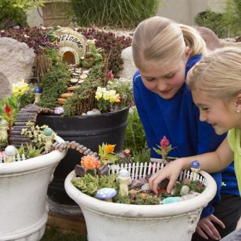 Making a Fairy Garden, Best Screen-Free School Holiday Ideas For Kids At Home