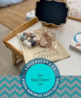 DIY Bag Charm / Keyring Kit