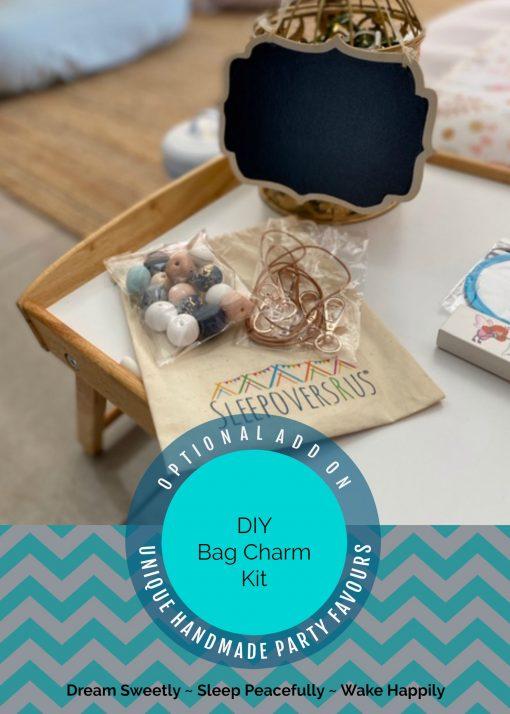 DIY Bag Charm / Keyring Kit