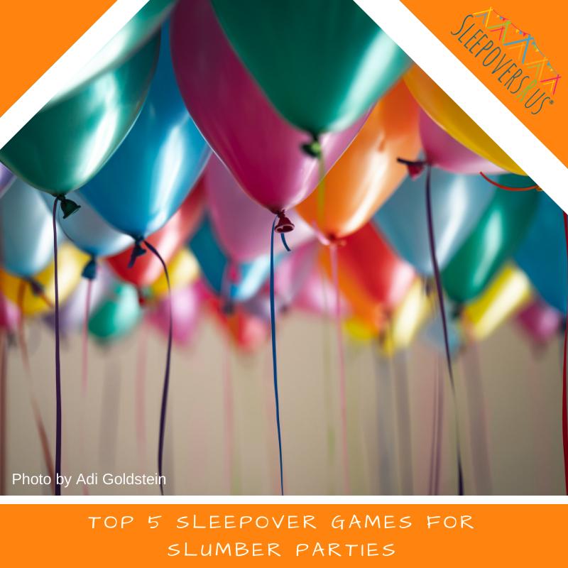 Top 5 Sleepover Games for Slumber Parties