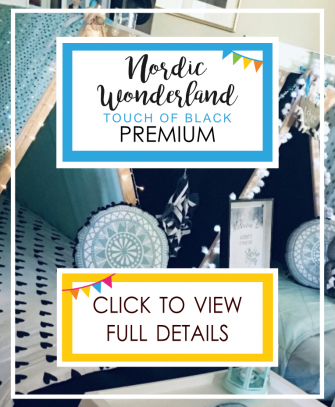Nordic Wonderland with a touch of black - Premium Theme