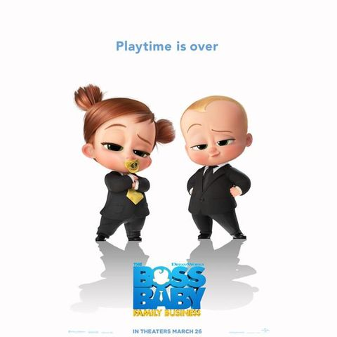 Boss Baby Family Business 2021 Kids Childrens Movie